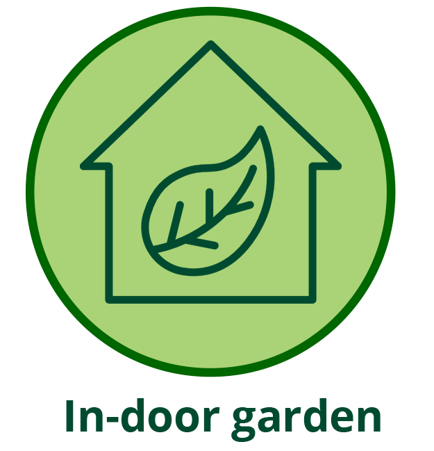 Build to rent indoor garden