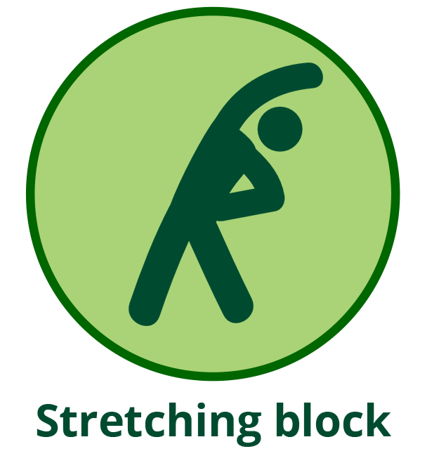 Build to rent stretching block